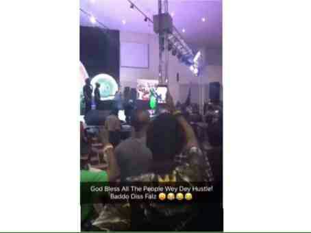 Olamide Dissed Falz And Drummed Up Support For 9ice At An Event