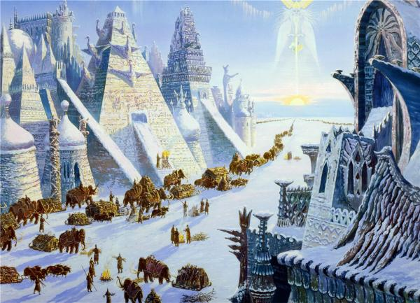 White Pyramid, Magical Landscapes 2