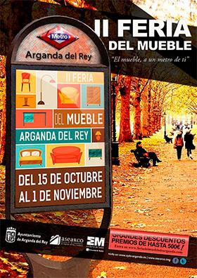 II Feria del Mueble de Arganda del Rey, hasta el 1 de noviembre