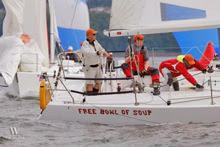 J/105s sailing Seattle NOOD Regatta