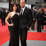 OIC - ENTSIMAGES.COM - Liza Marshall and Mark Strong at the The Olivier Awards in London 12th April 2015  Photo Mobis Photos/OIC 0203 174 1069