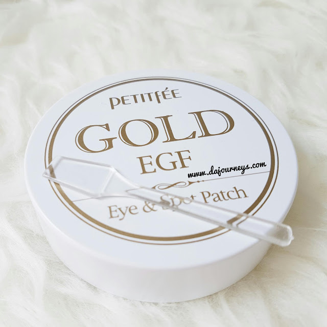 Review Petitfee Gold EGF Eye and Spot Patch