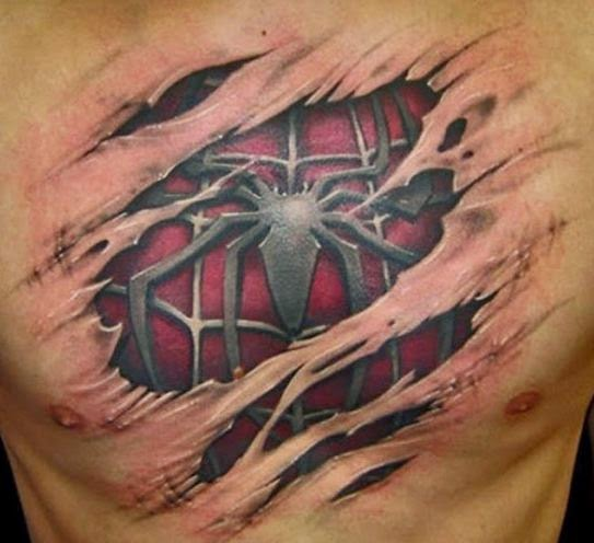 41 Amazing New Realistic 3d Tattoo Designs