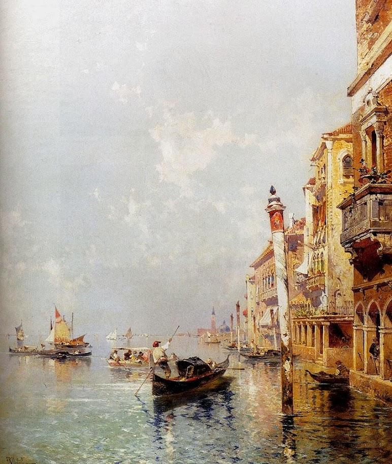 Franz Richard Unterberger - Canale Della Giudecca