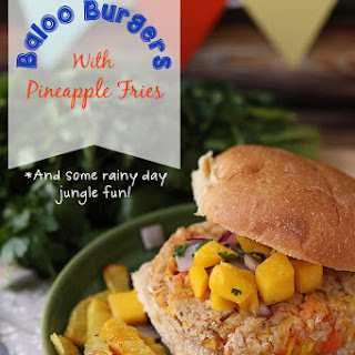 Baloo Burgers (Tropical Veggie Burgers)