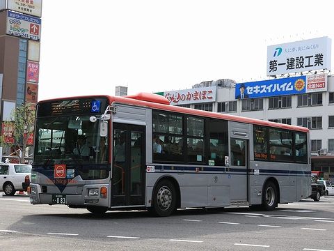 新潟交通 萬代橋線BRT ・883