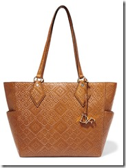 Diane von Furstenberg Basketweave Leather Tote