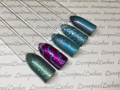 liverpoollashes liverpool lashes cnd shellac new colours garden muse collection lost labyrinth