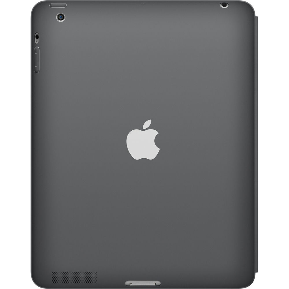 apple ipad smart case dark gray polyurethane f ipad 2 2nd. Black Bedroom Furniture Sets. Home Design Ideas