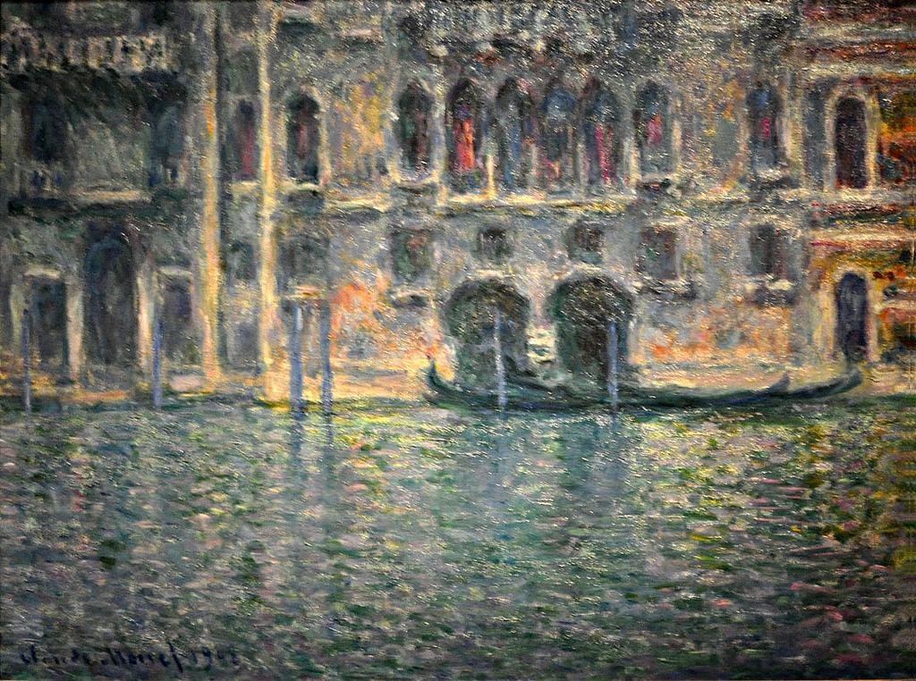 Claude Monet à Venise
