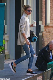 Olivia Palermo casual comfortable style