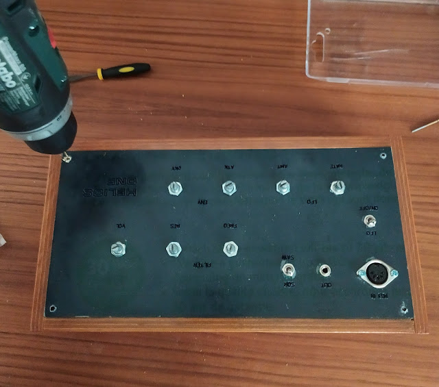 synth panel drilling