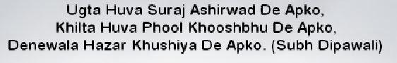 Diwali Text Wallpapers