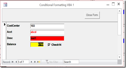 Roger's Access Blog: How do I use Conditional Formatting in Access