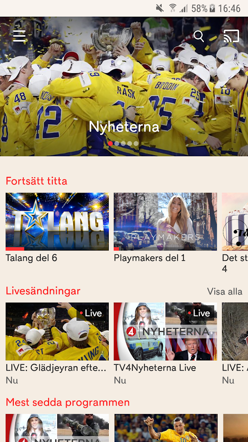 TV4 Play- screenshot