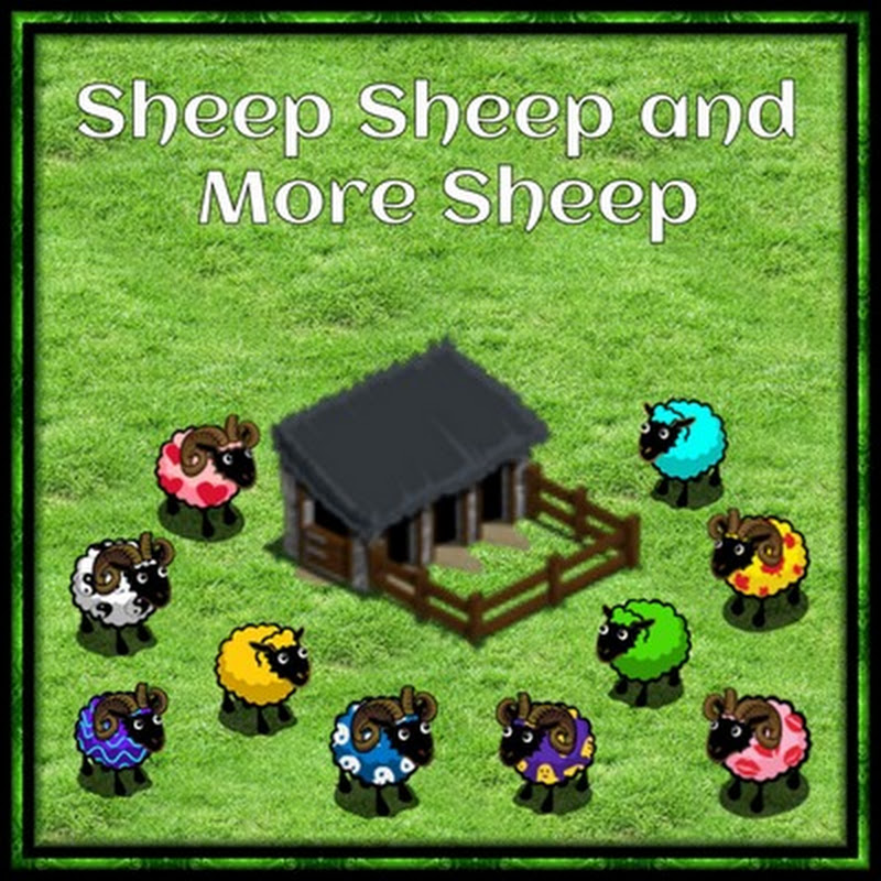 Farmville Sheep Pen Patterns