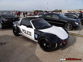 Smart Coupe Police Car