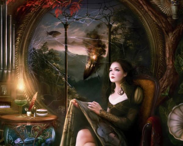 Sexy Angel Woman, Magic Beauties 4