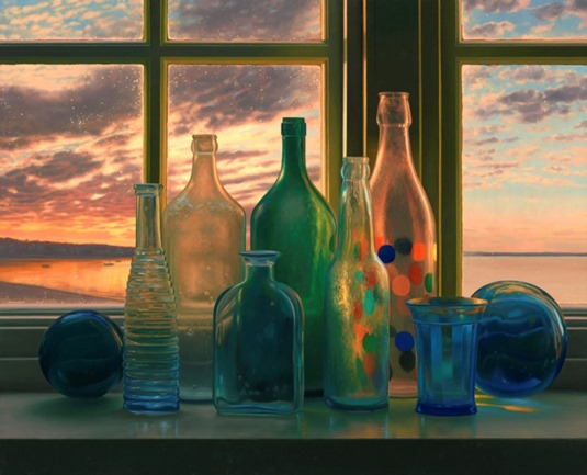 bottles-provincetown-sunrise