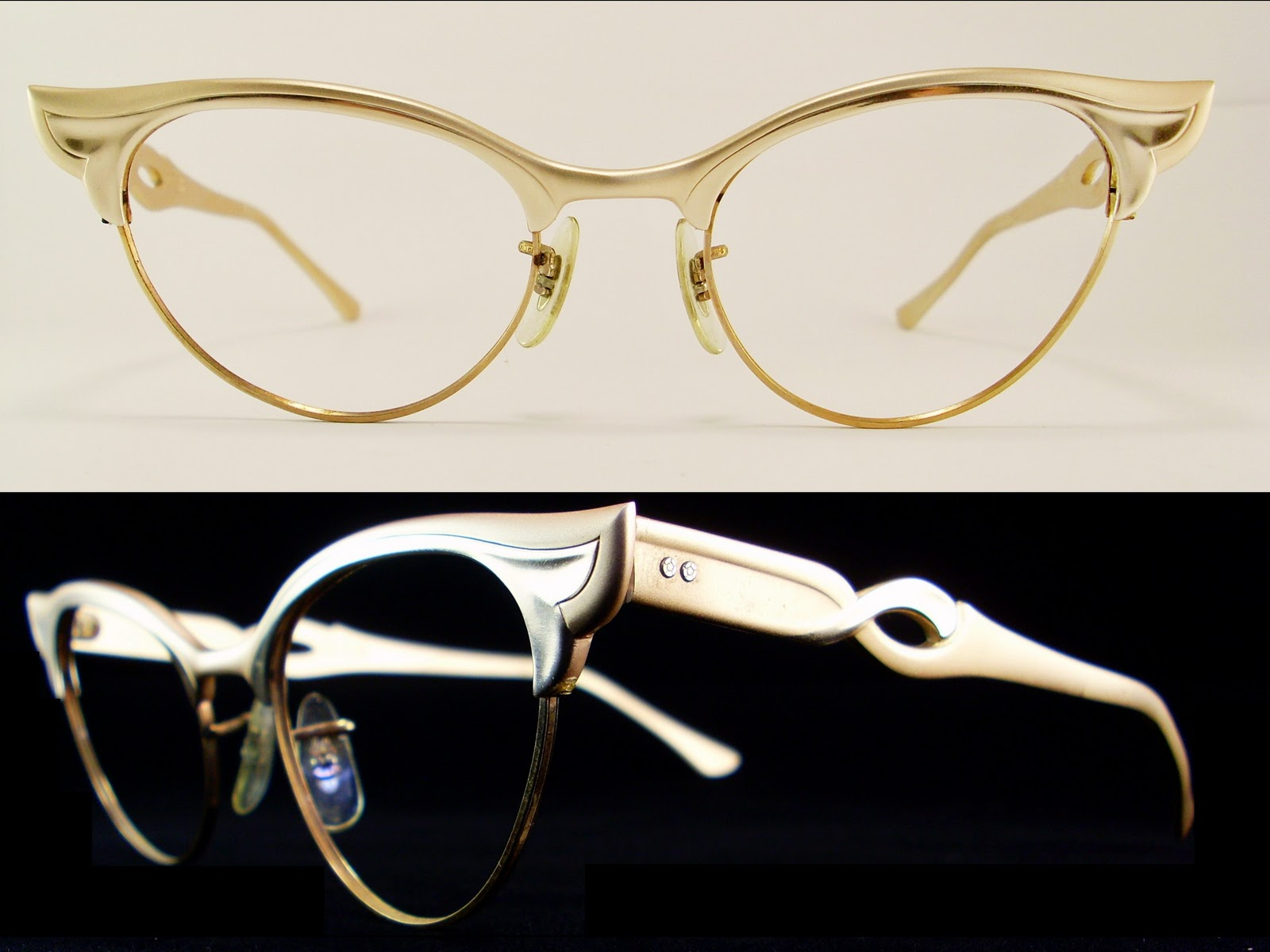 Magnificent Gold Frame Glasses Ornament - Picture Frame Ideas ...