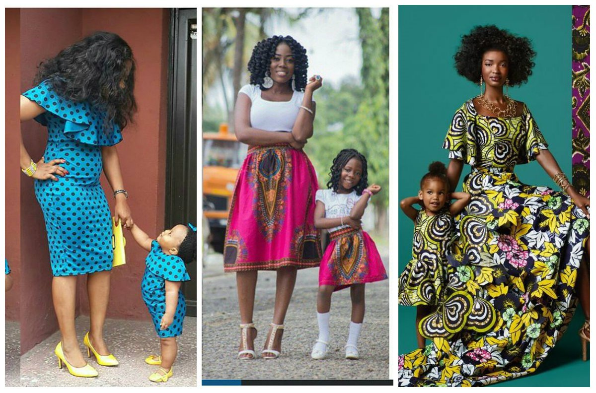 THE ENVIABLE ANKARA LADIES STYLES YOU SHOULD STEAL FROM MUM AND DAUGHTER IN 2018 6