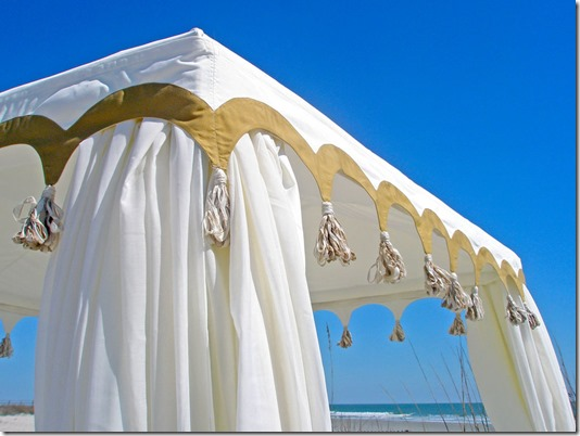Custom Boutique Tents Beach Cabana