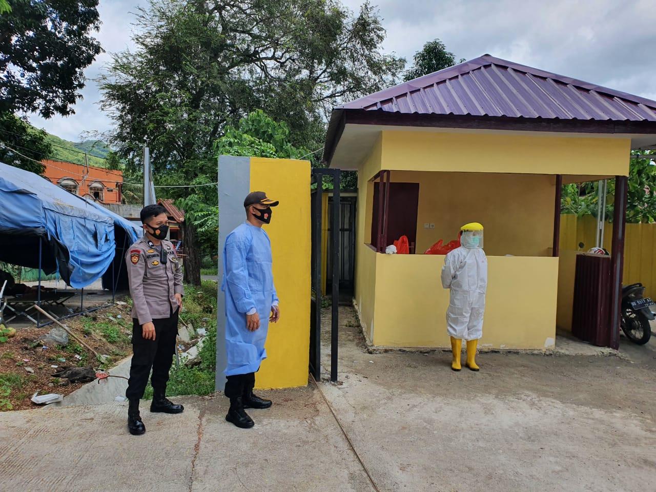 Kapolres Soppeng Peduli Terhadap Personil Polri yang Sakit