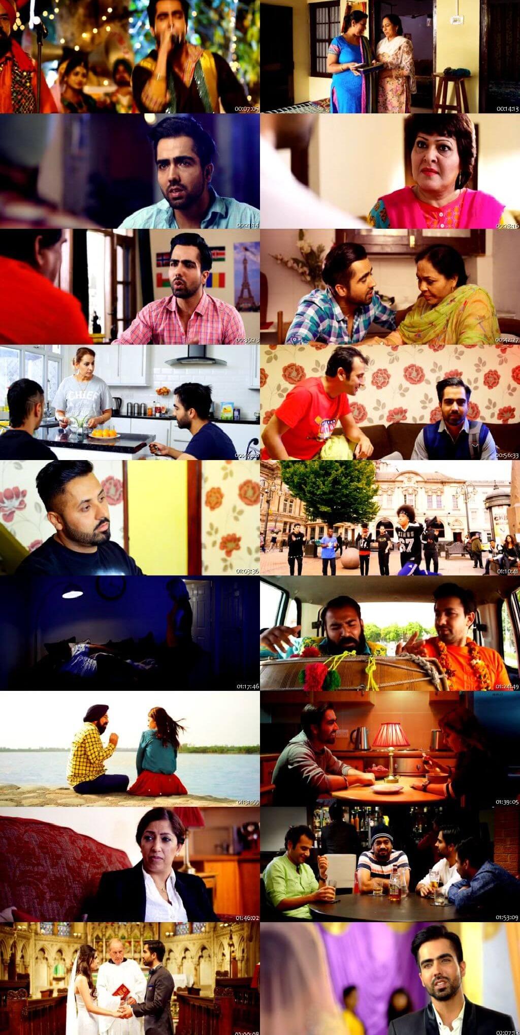 Screen Shot Of Mahi NRI 2017 Full Movie Free Download HD 720P Watch Online