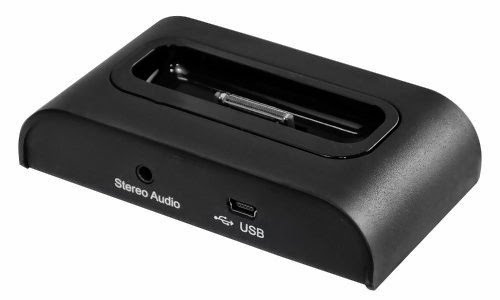 Pyle Universal iPod/iPhone Docking Station For Audio Output Charging