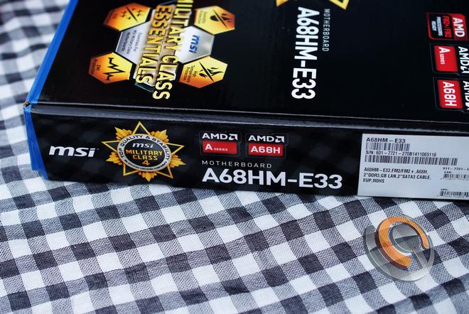 Mainboard MSI A68HM-E33, thay thế và tiên tiến hơn chipset AMD A58 - 75395