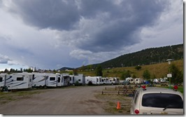 Williams Lake Stampede Campground, along Cariboo Highway, BC