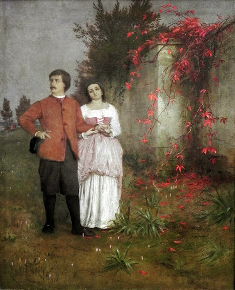 Arnold Böcklin - The Artist and his Wife