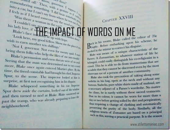 impact of words