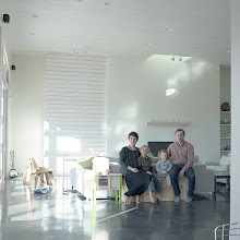Photo: title:Yuki Murata, Chris Long, Ren + Tei Murata-Long, Santa Fe, New Mexico date: 2013 relationship: friends, art, met on e-mail via Halsey Burgund years known: 5-10