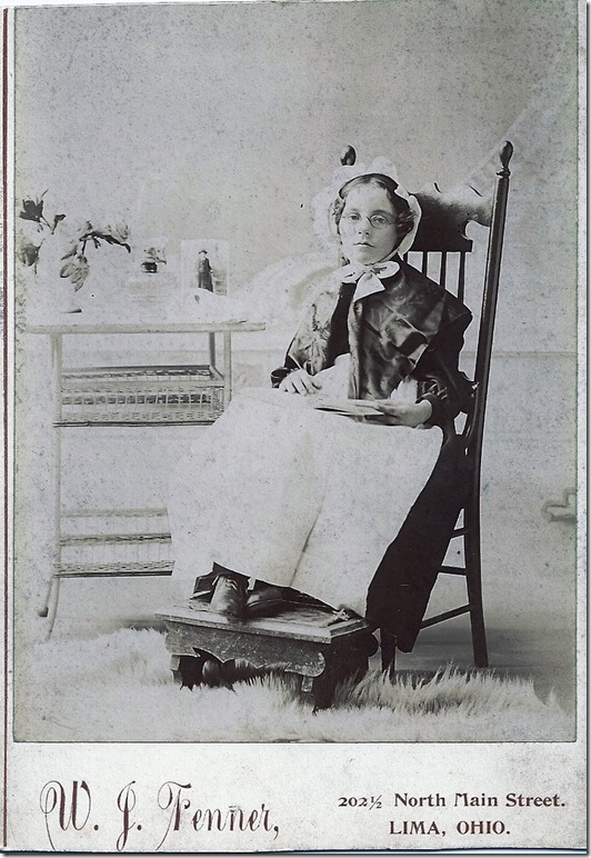 BOWDEN_Florence in rocking chair at Fenner studio