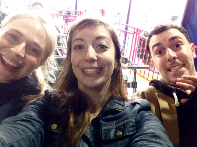 Selfie on the Rev Booster ride, Ocean Park, Hong Kong