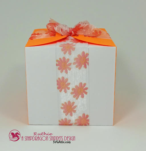 Ribbon wrap box - SnapoDragon Snippets - Ruthie Lopez - My Hobby My Art 2