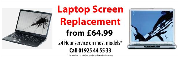 Laptop Screen Repair Replacement