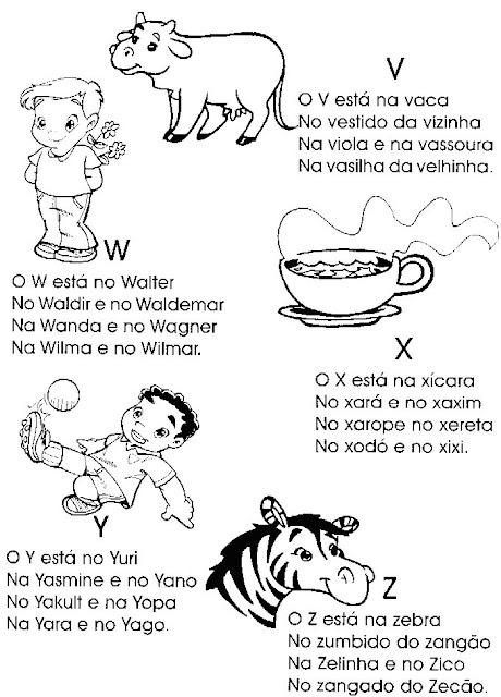Alfabeto Ilustrado E Com Textos
