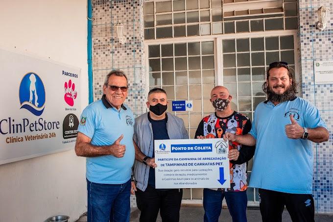 CAUSA ANIMAL   Protetor Felipe recebe o apoio do Consulado do Grêmio de Esteio