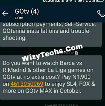 Gotv max subscription price