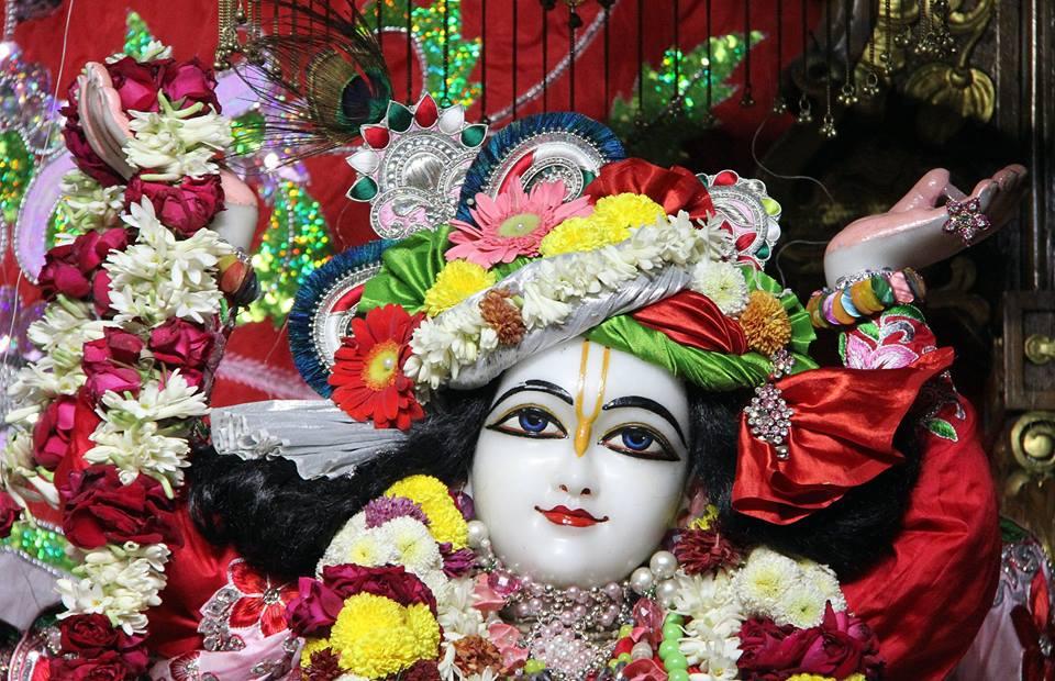 ISKCON Delhi Deity Darshan 06 Jan 2016 (1)