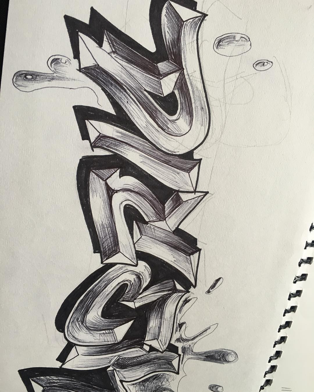dibujos-lapiz-graffitis727