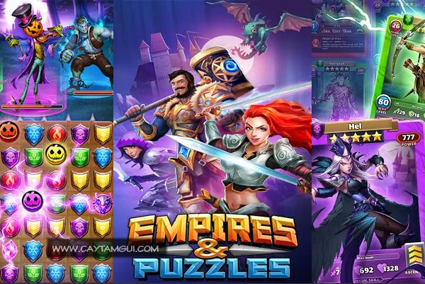 Hướng dẫn chơi game Empires & Puzzles - Game chiến thuật nhập vai giải đố RPG đáng chơi trên điện thoại di động