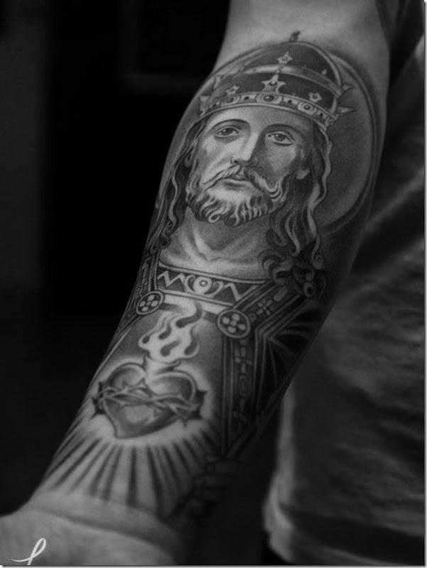 vénèrent jésus-christ des conceptions de tatouage - idées et photos