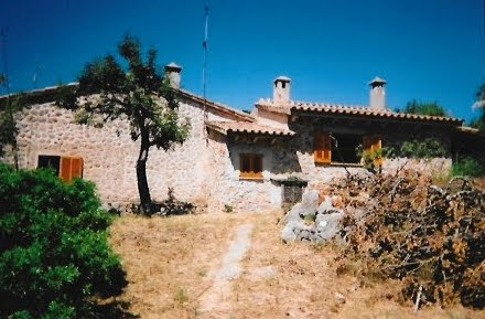 Our farmhouse in Spain - the site of many English teaching opportunities with the Idiom Game