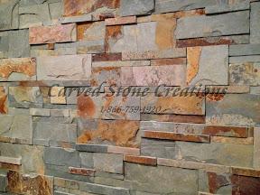 Architecture, Exterior, Mosaic, Samples, Veneer, wall stone