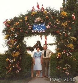 Sølvbryllup 19. maj 1981
