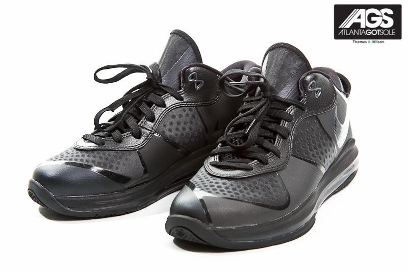 ... Upcoming Nike LeBron 8 V2 Low 8211 Triple Black 8211 Detailed Images ...