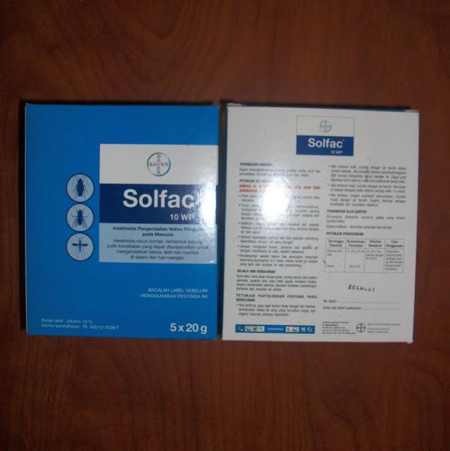 Insektisida Solfac 10 WP